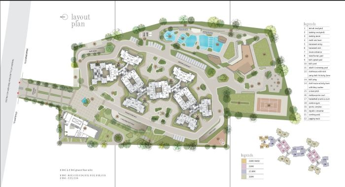 goyal-orchid-whitefield-master-plan